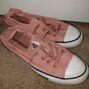 Salmon/Pink Converse All Star